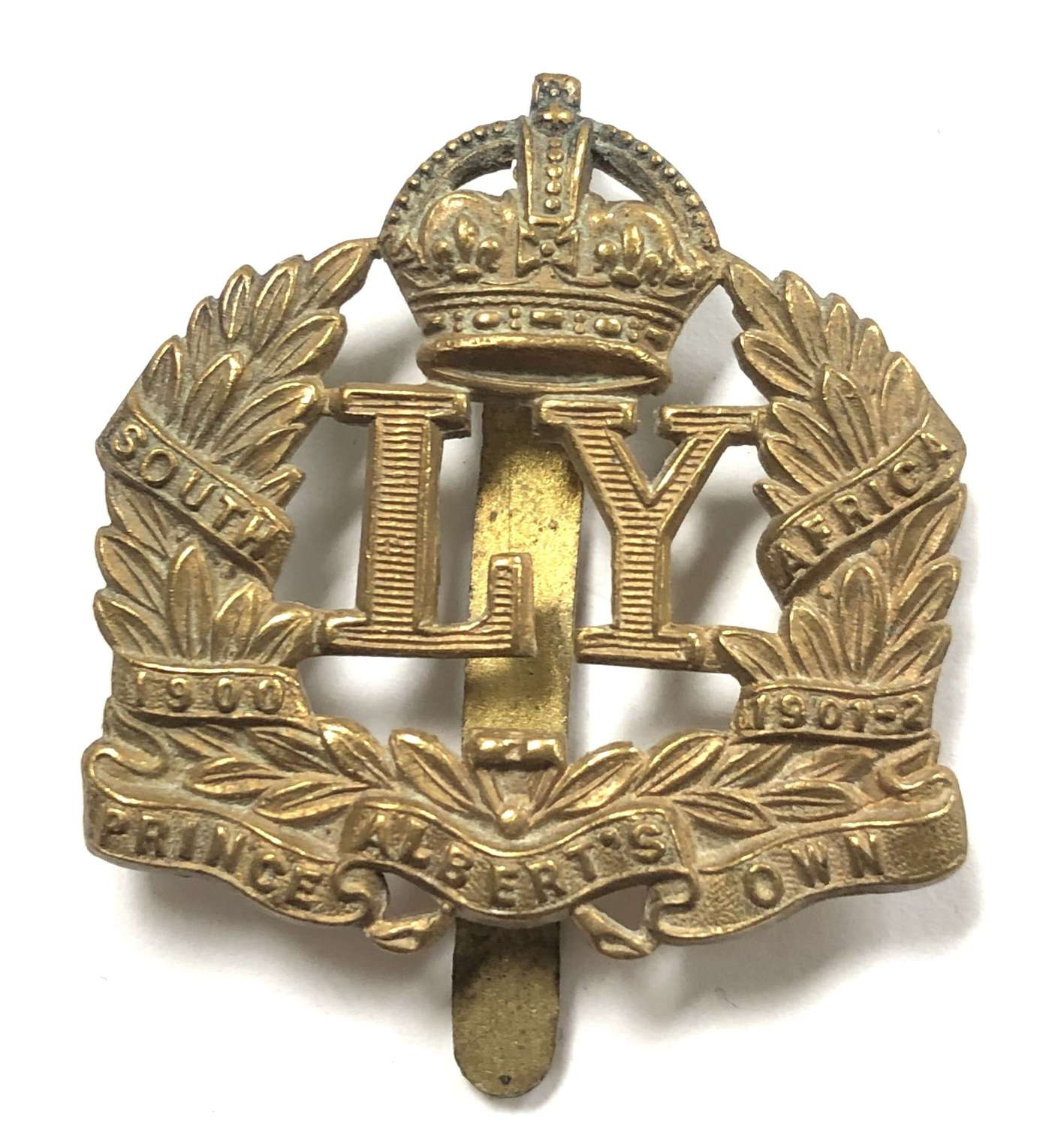 Leicestershire Imperial Yeomanry cap badge circa 1908-15