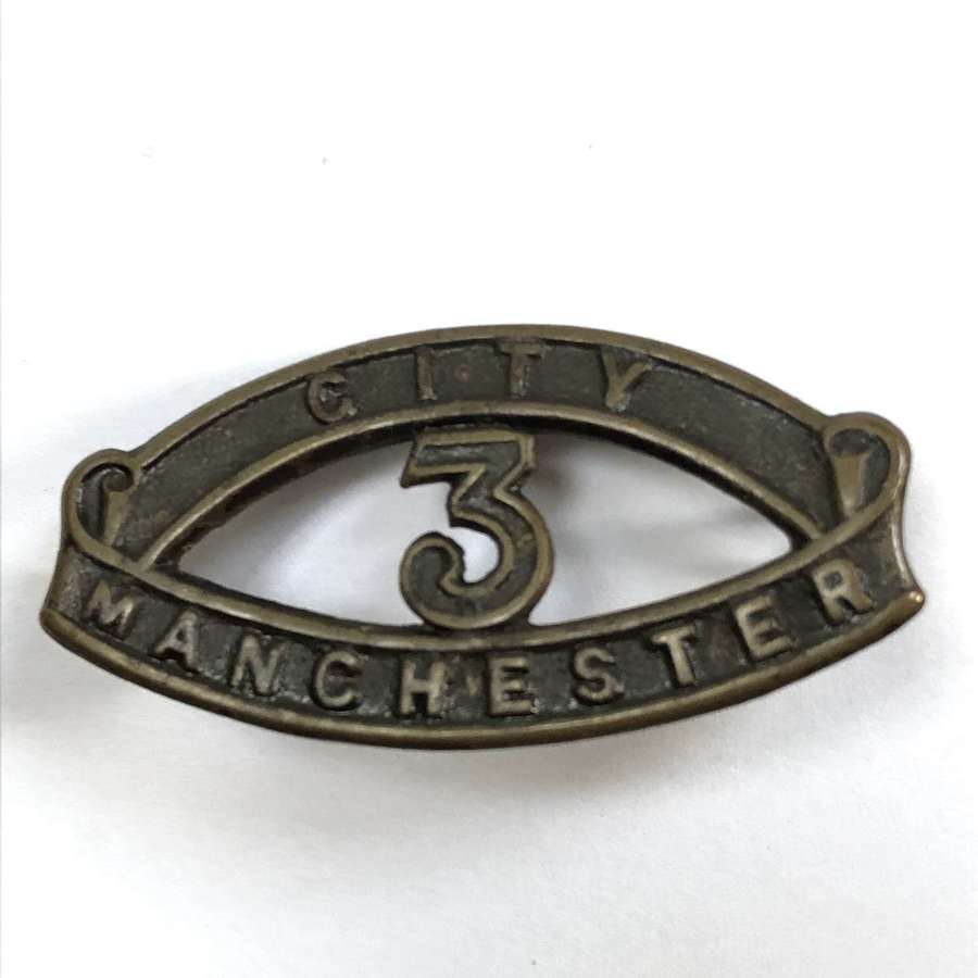 """CITY / 3 / MANCHESTER WW1  """"Manchester Pals"""" """"Kitchener's Army"""" title"""