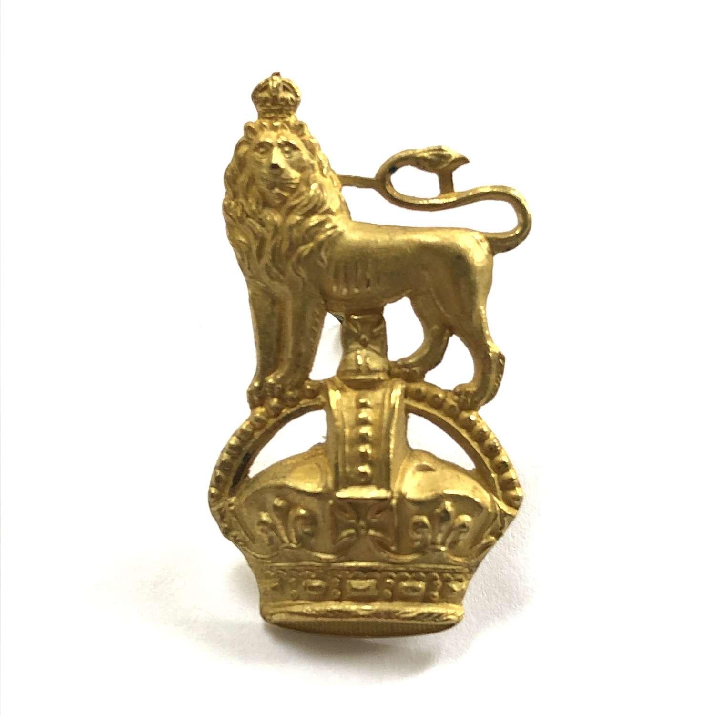 Staff Officer's cap badge circa 1901-52 by JR Gaunt, London