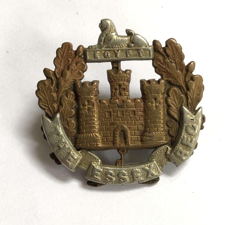 Essex Regiment Victorian cap badge