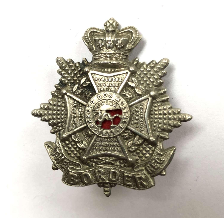 Border Regiment Victorian cap badge circa 1896-1901