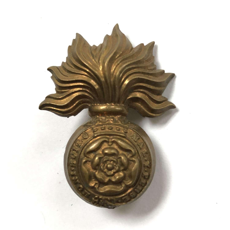 Royal Fusilers Victorian cap badge circa 1896-1901