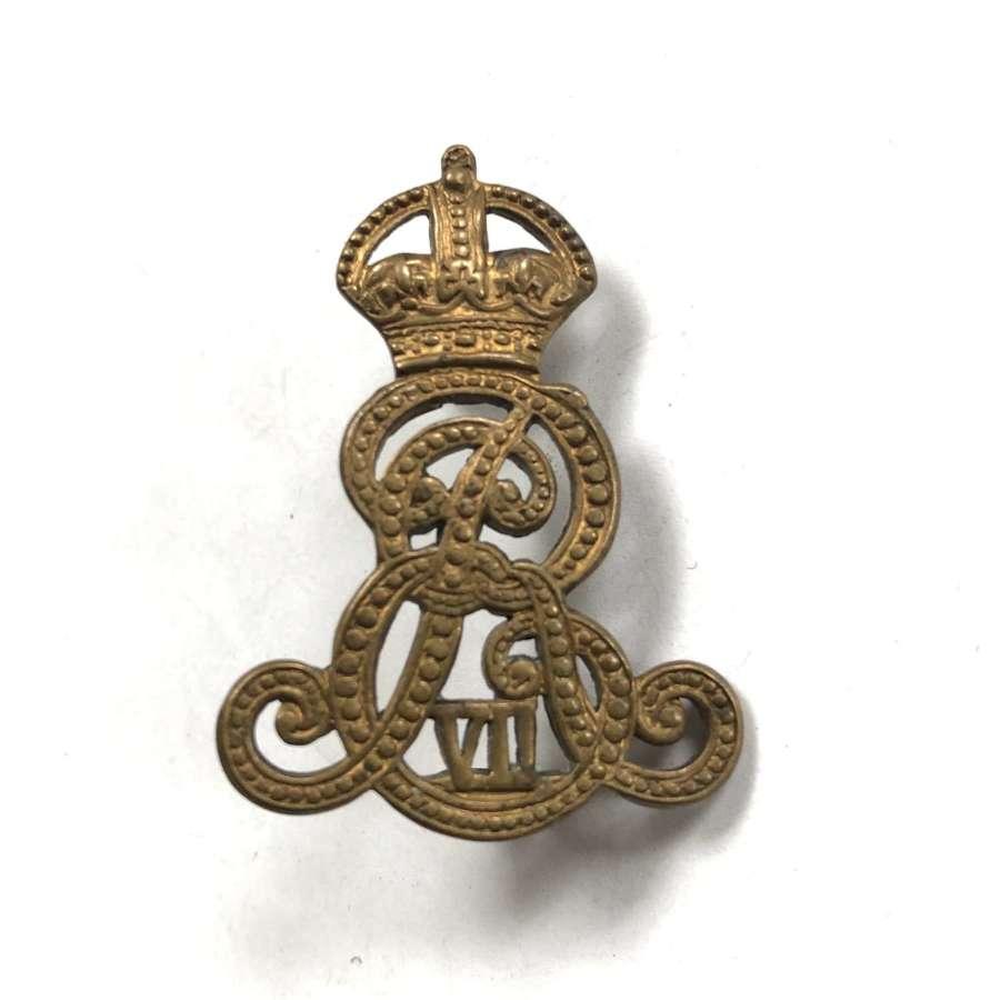 Military Prison / Provost Staff Corps Edward VII cap badge c1902-10