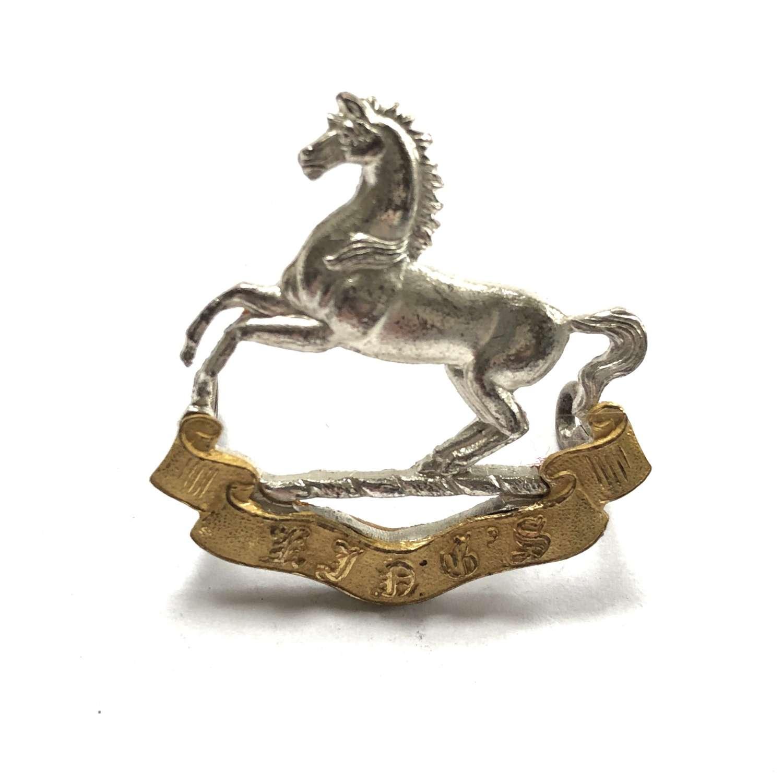 King's (Liverpool) Regiment post 1926 Officer's cap badge