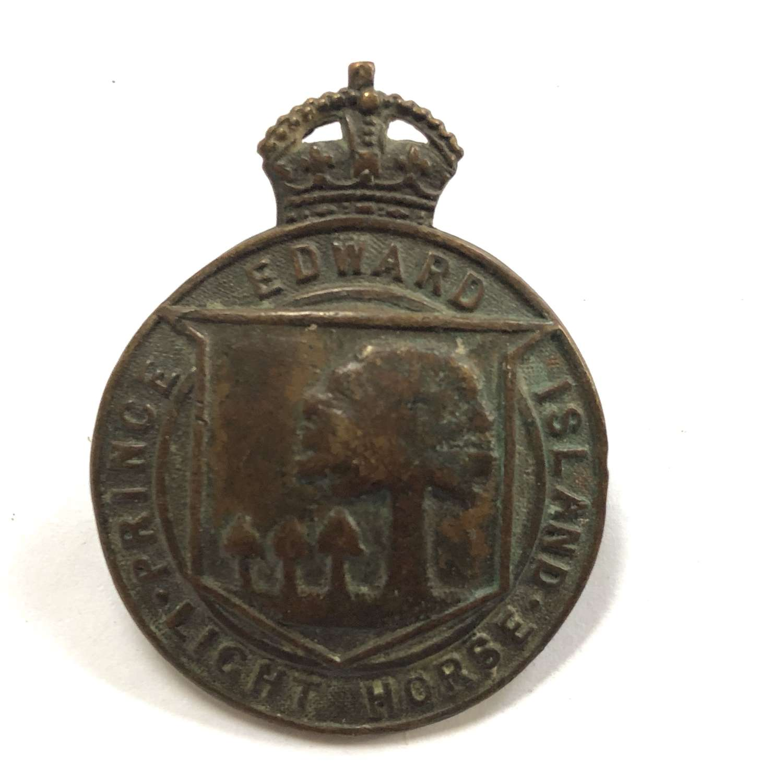 Canadian Prince Edward Island Light Horse cap badge by Birks