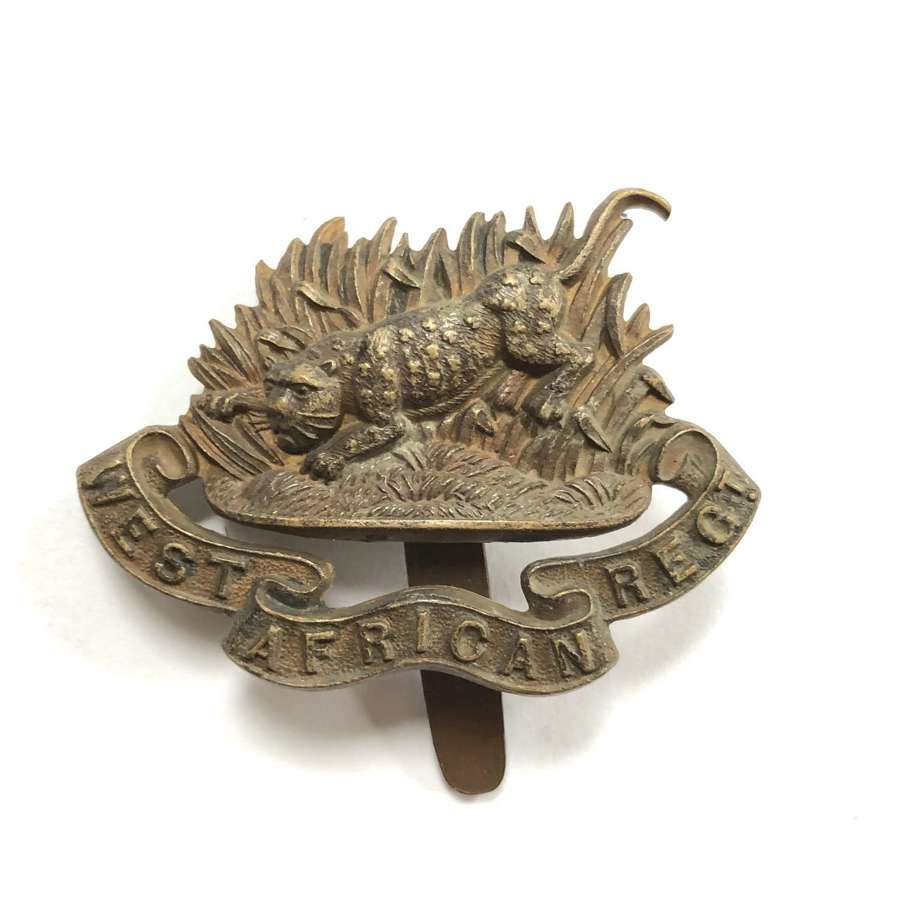 West African Regiment post 1925 cap badge