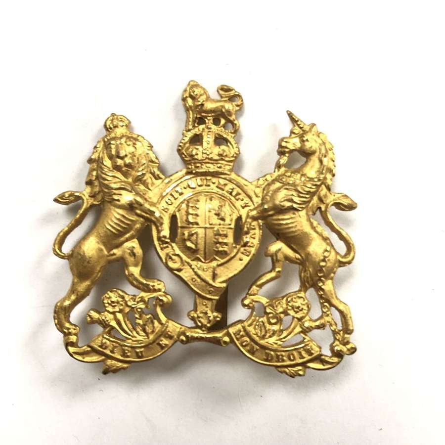 Colonial Service Officer's head-dress badge by J.R. Gaunt, London