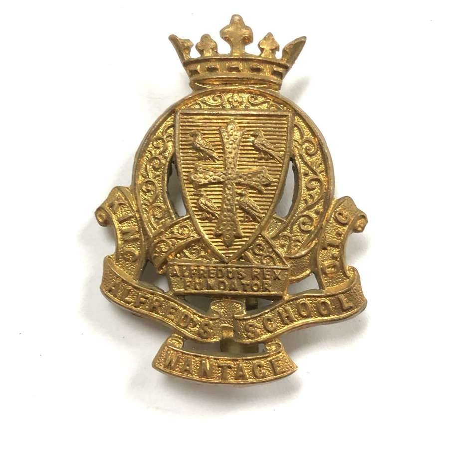King Alfred's School OTC, Wantage cap badge