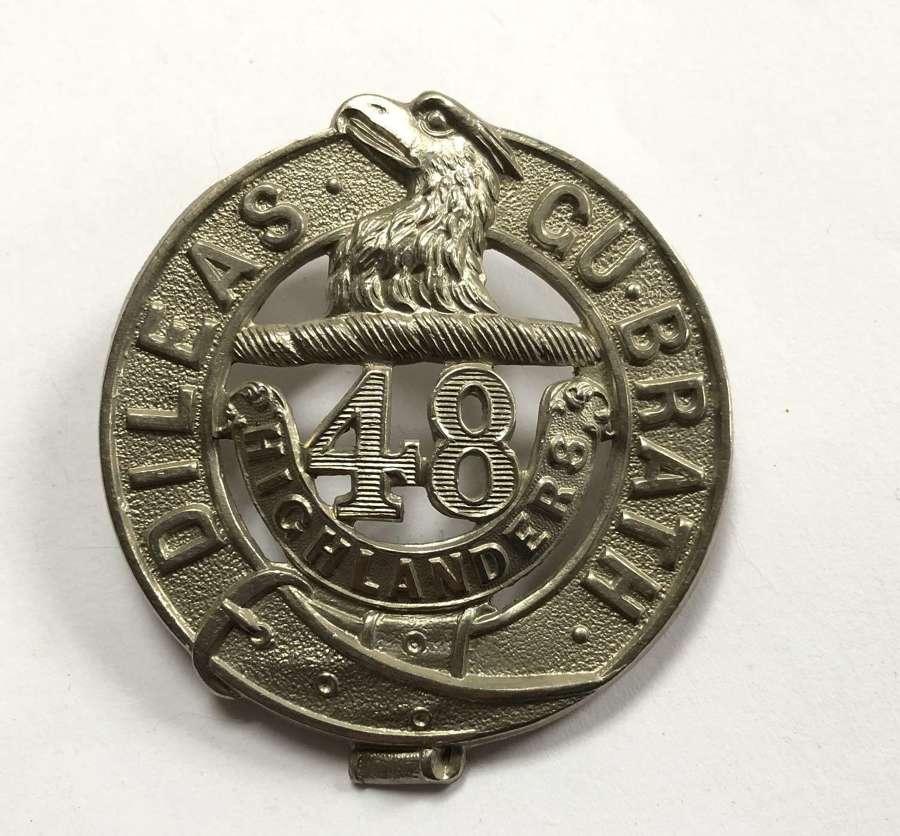Canadian 48th Highlanders glengarry badge by Tiptaft