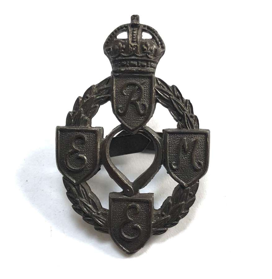 Royal Electrical & Mechanical Engineers REME Officer's cap badge