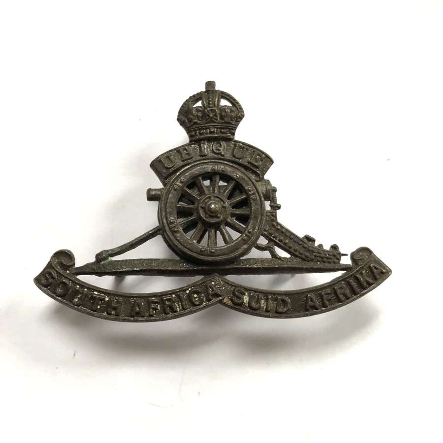 South African Artillery cap badge