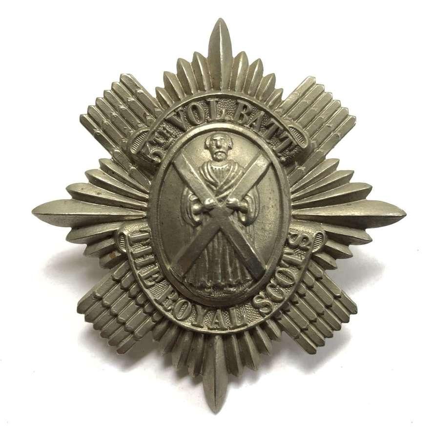 Scottish. 5th VB Royal Scots glengarry badge circa 1888-1908