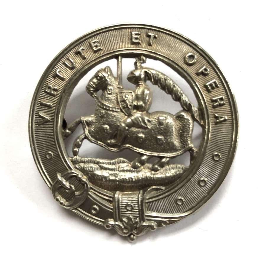 Scottish. 6th (Fifeshire) VB Black Watch  glengarry badge c1887-1908